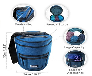 Knitting Bag Portable Light and Easy to Carry
