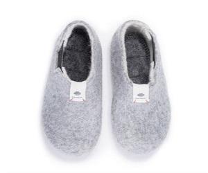 Yves Light Grey Shoes