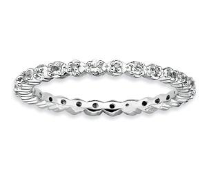 Diamond Silver Band