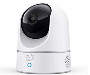 Indoor Cam Pan & Tilt, Plug-in Security Indoor Camera with Wi-Fi  +  Extra $5 Off