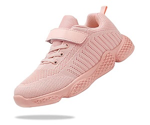 Kids Breathable Knit Athletic Running Sneakers