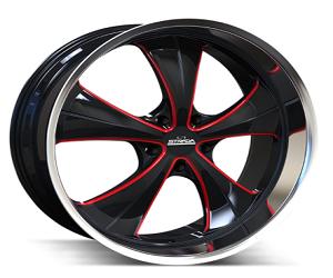 Strada Wheels Old Skool Gloss Black